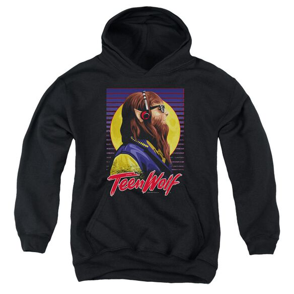 Teen Wolf Headphone Wolf Youth Pull Over Hoodie