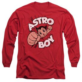 Astro Boy Flying Long Sleeve Adult T-Shirt