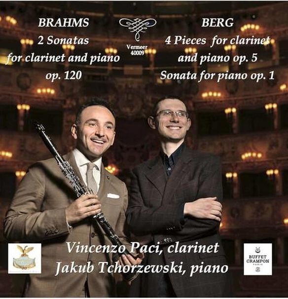 Brahms & Berg: Works For Clarinet & Piano