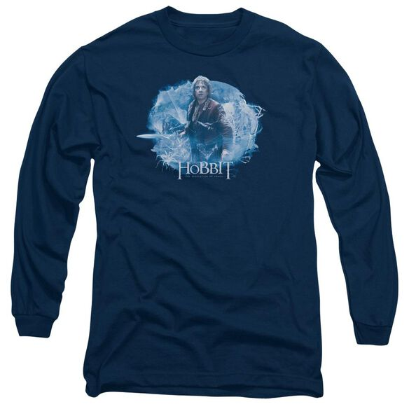 Hobbit Tangled Web Long Sleeve Adult T-Shirt