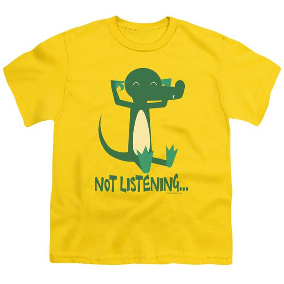 Not Listening Short Sleeve Youth T-Shirt
