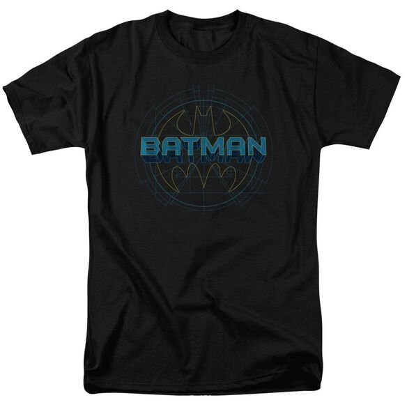Batman Bat Tech Logo Short Sleeve Adult T-Shirt