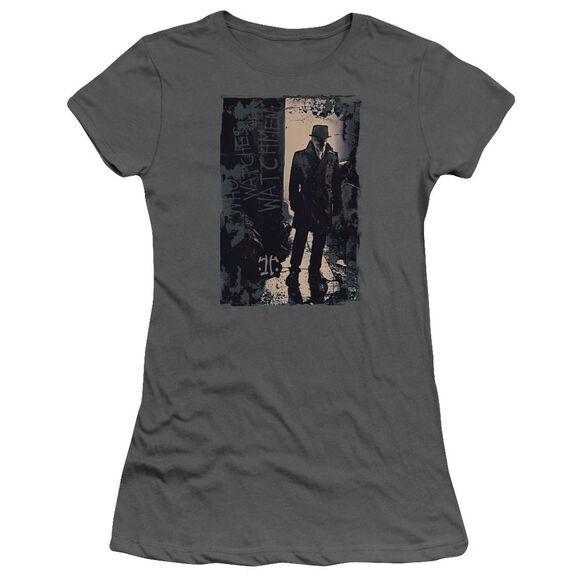 Watchmen Light Short Sleeve Junior Sheer T-Shirt