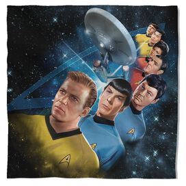Star Trek Among The Stars Bandana White