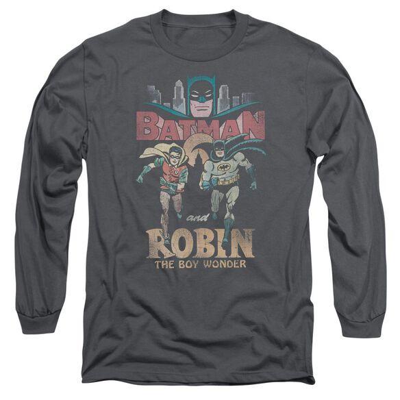 Batman Classic Tv Classic Duo Long Sleeve Adult T-Shirt