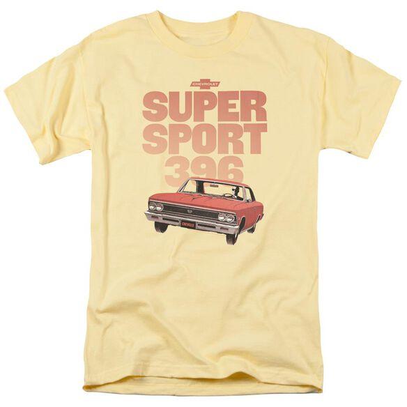 Chevrolet Super Sport 396 Short Sleeve Adult Banana T-Shirt