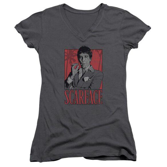 Scarface Tony Junior V Neck T-Shirt