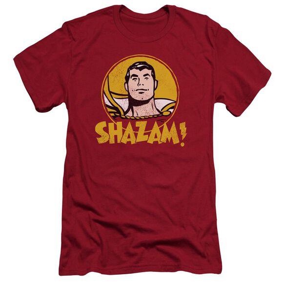 Dc Shazam Circle Premuim Canvas Adult Slim Fit