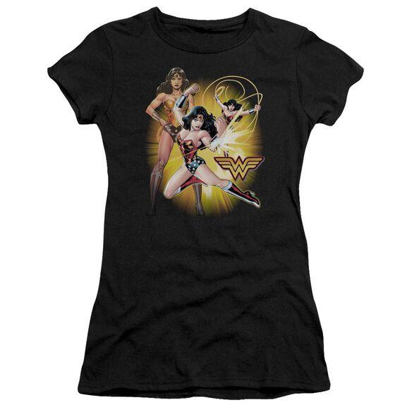 Jla Wonder Woman Premium Bella Junior Sheer Jersey
