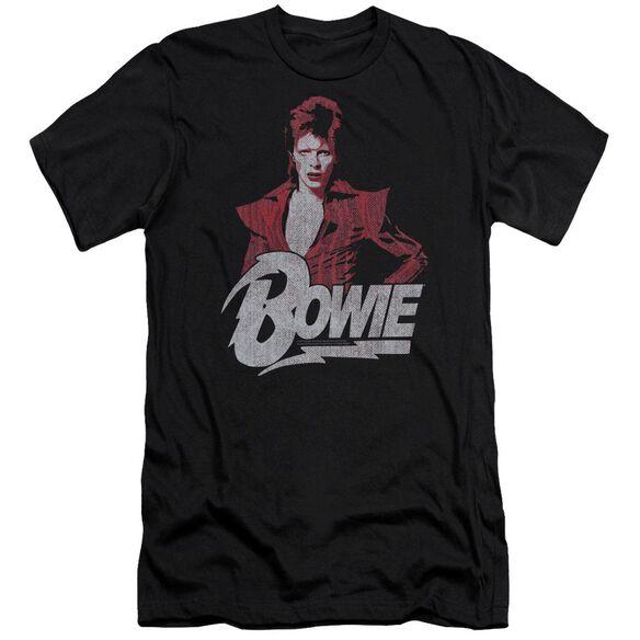 David Bowie Diamond David Short Sleeve Adult T-Shirt
