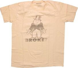 Monopoly Broke T-Shirt Sheer