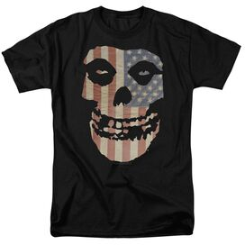 Misfits Fiend Flag Short Sleeve Adult T-Shirt