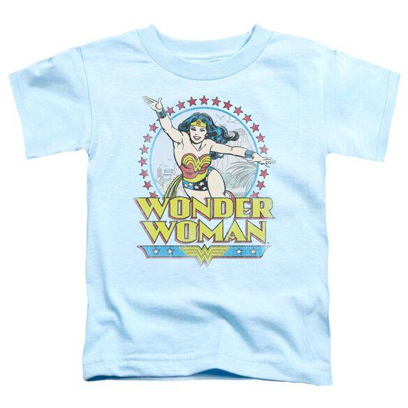 Dc Star Of Paradise Island Short Sleeve Toddler Tee Light Blue Md T-Shirt