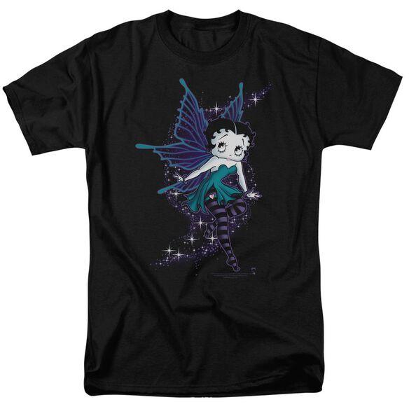 Betty Boop Sparkle Fairy Short Sleeve Adult T-Shirt