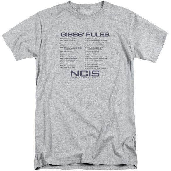 Ncis Gibbs Rules Short Sleeve Adult Tall Athletic T-Shirt