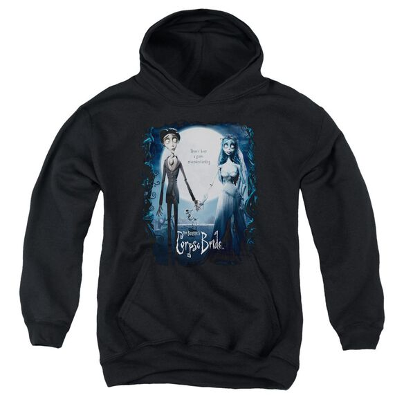 Corpse Bride Poster Youth Pull Over Hoodie