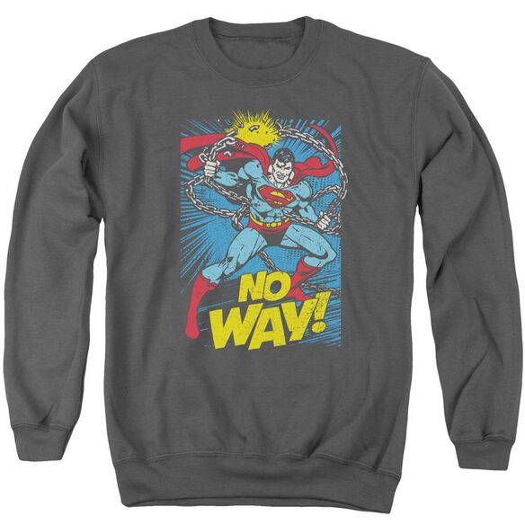 Dc No Way Adult Crewneck Sweatshirt