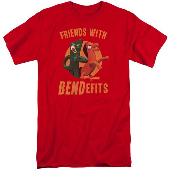 Gumby Bendefits Short Sleeve Adult Tall T-Shirt