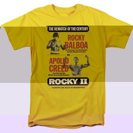ROCKY II REMATCH - S/S ADULT 18/1 T-Shirt