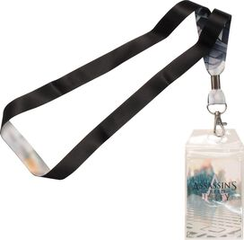 Assassins Creed Unity Abstergo Lanyard