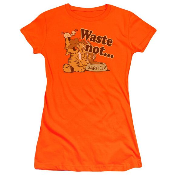 Garfield Waste Not Premium Bella Junior Sheer Jersey