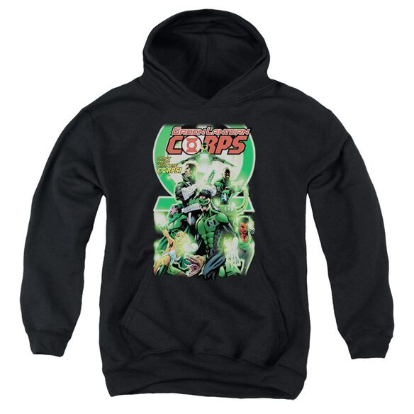 Green Lantern Gl Corps #25 Cover Youth Pull Over Hoodie