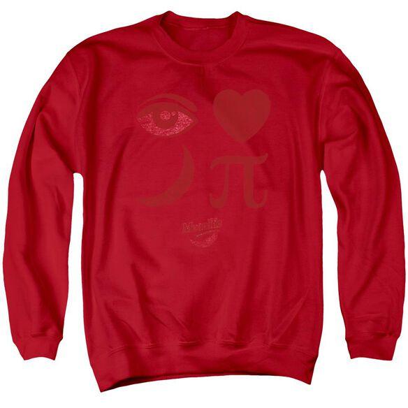 Moon Pie Eye Pie Adult Crewneck Sweatshirt