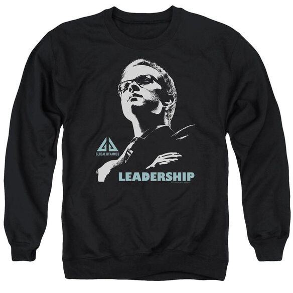 Eureka Leadership Poster Adult Crewneck Sweatshirt