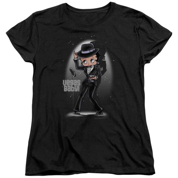 Betty Boop Vegas Baby Short Sleeve Womens Tee T-Shirt