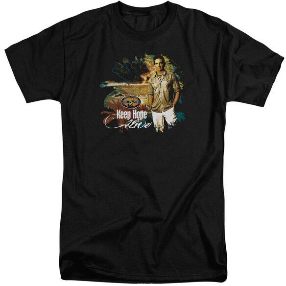 Survivor Keep Hope Alive Short Sleeve Adult Tall T-Shirt