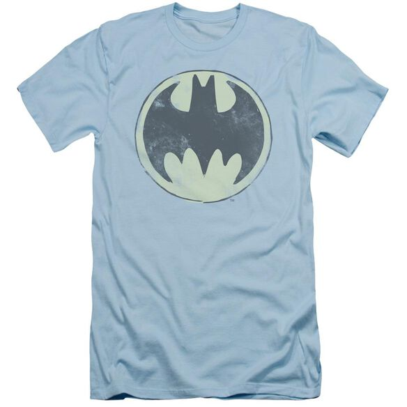 BATMAN OLD TIME LOGO - S/S ADULT 30/1 - LIGHT BLUE T-Shirt