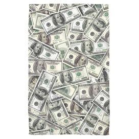 Hundred Dollar Bills Face Hand Towel