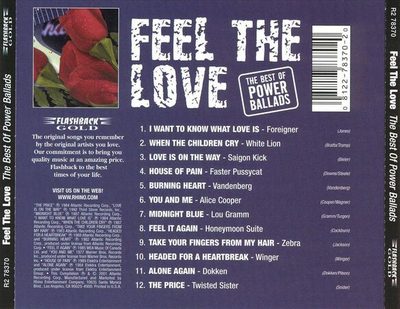 Feel The Love Best Of Pow