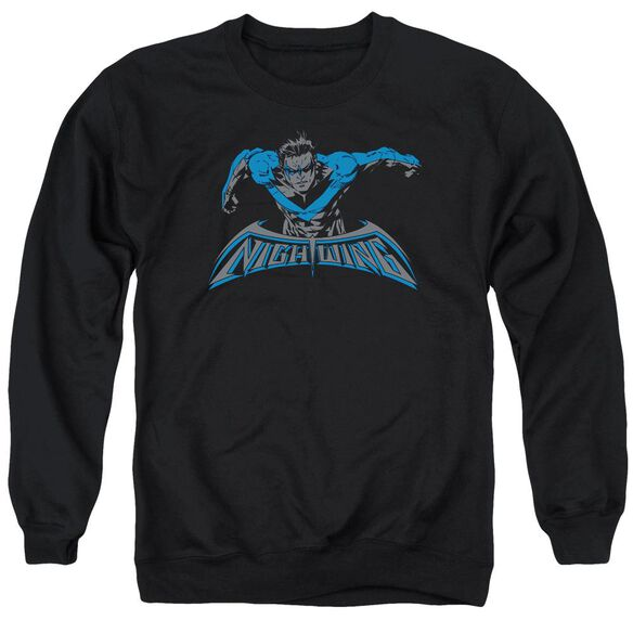 Batman Wing Of The Night Adult Crewneck Sweatshirt