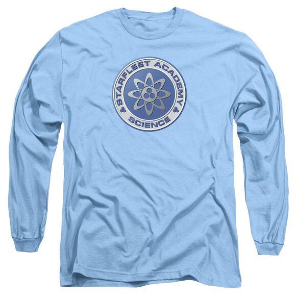 Star Trek Science Long Sleeve Adult Carolina T-Shirt