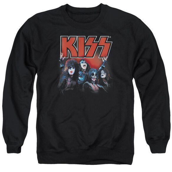 Kiss Kings Adult Crewneck Sweatshirt