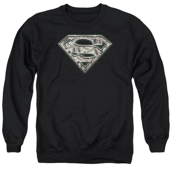 Superman All About The Benjamins Adult Crewneck Sweatshirt