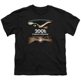 2001 A Space Odyssey Prologue Epilogue Short Sleeve Youth T-Shirt