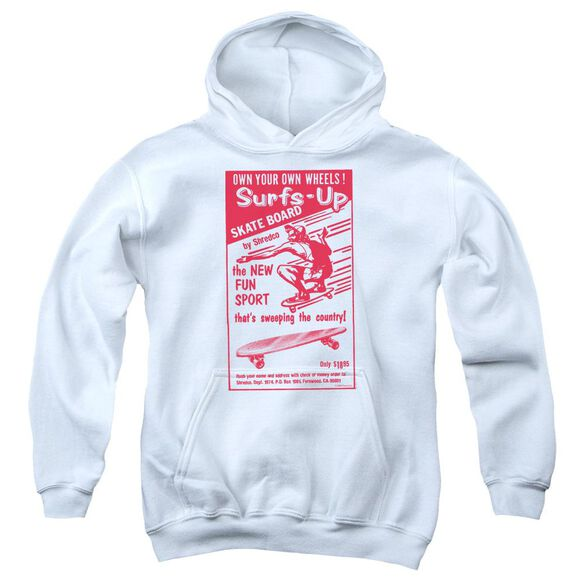 Surfs Up Youth Pull Over Hoodie