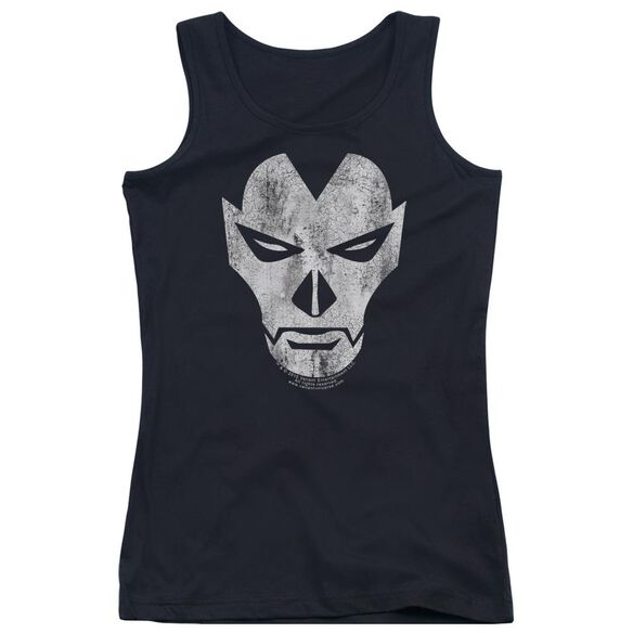 Shadowman Face Juniors Tank Top