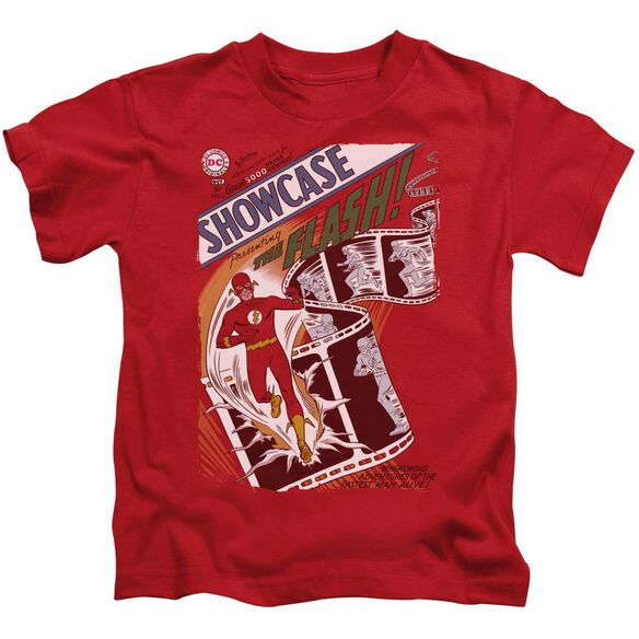 Jla Showcase #4 Cover Short Sleeve Juvenile Red T-Shirt