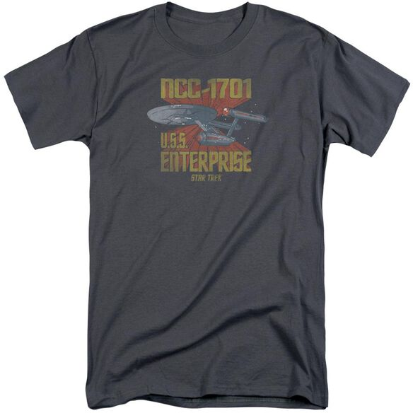 Star Trek Ncc1701 Short Sleeve Adult Tall T-Shirt