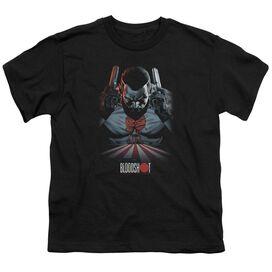 Bloodshot Blood Lines Short Sleeve Youth T-Shirt