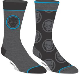 Black Panther 2pk Socks
