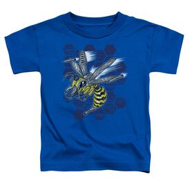 Hornet Short Sleeve Toddler Tee Royal Blue T-Shirt