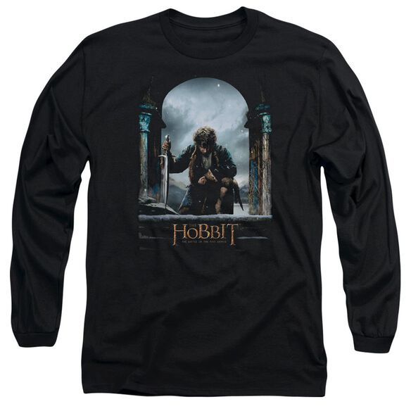 Hobbit Bilbo Poster Long Sleeve Adult T-Shirt