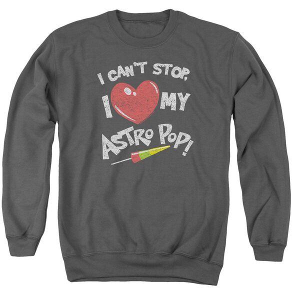 Astro Pop I Heart Adult Crewneck Sweatshirt