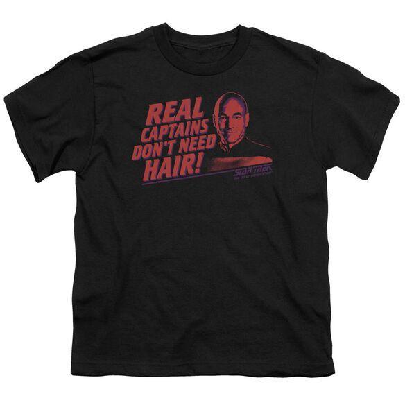 Star Trek Real Captain Short Sleeve Youth T-Shirt