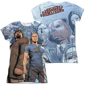 Archer & Armstrong Heroes & Villains (Front Back Print) Short Sleeve Junior Poly Crew T-Shirt