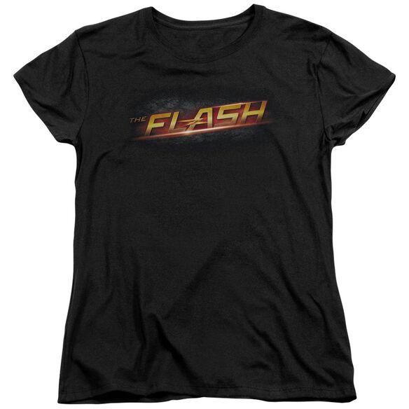 The Flash Logo Short Sleeve Womens Tee T-Shirt